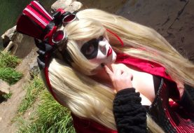 Hot Harley Quinn Cosplay For Mistah J.