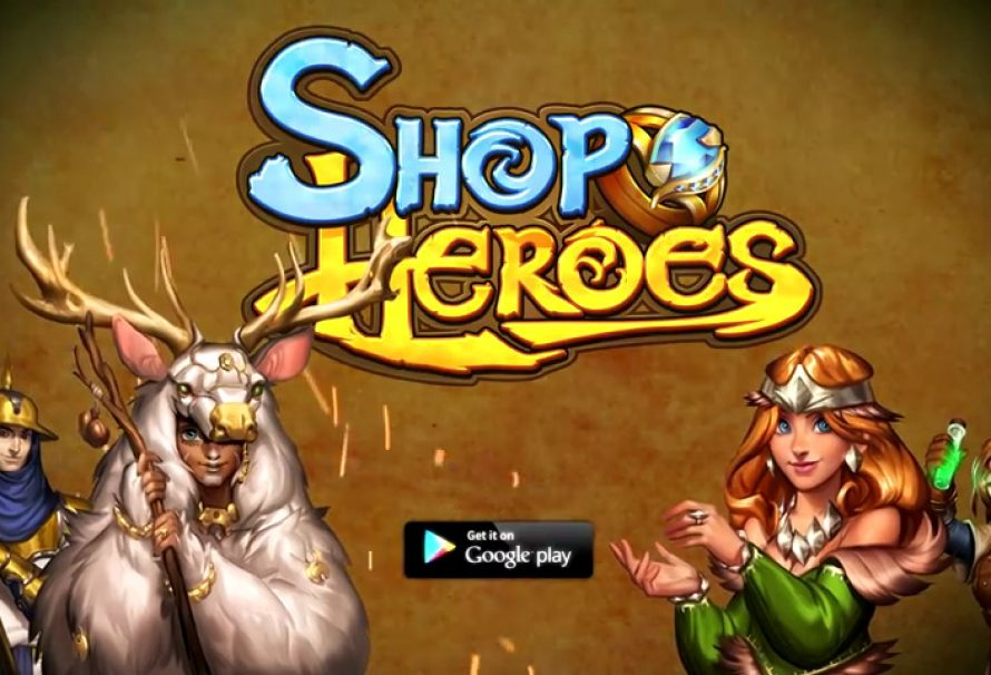"Build Your Dream RPG Store in ""Shop Heroes"" Free on Steam"