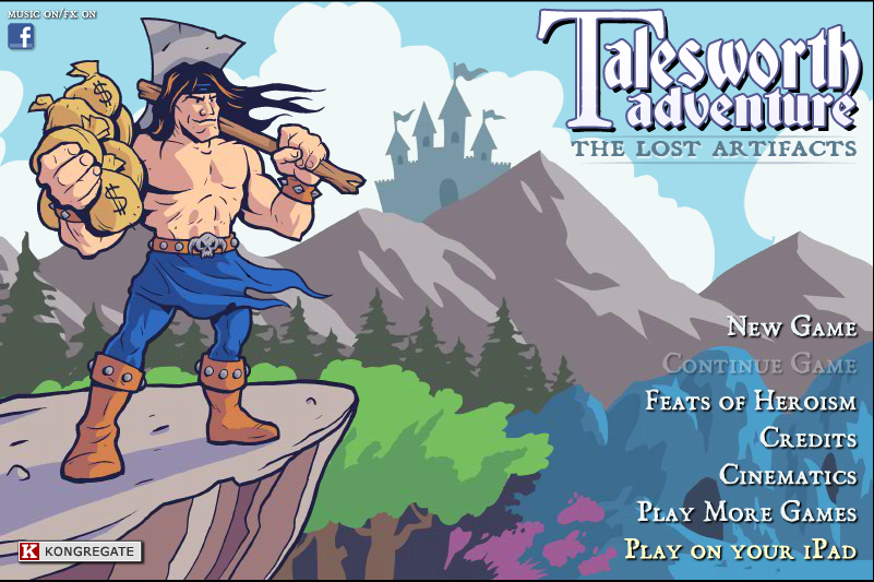 Talesworth Adventure: The Lost Artifacts - #GTUSA 1