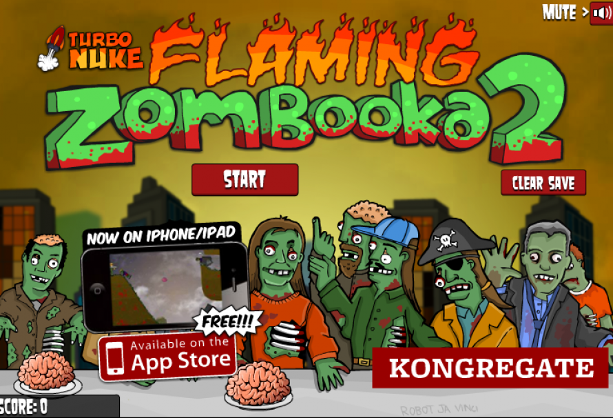 Flaming Zombooka 2 – Free To Play Browser Game