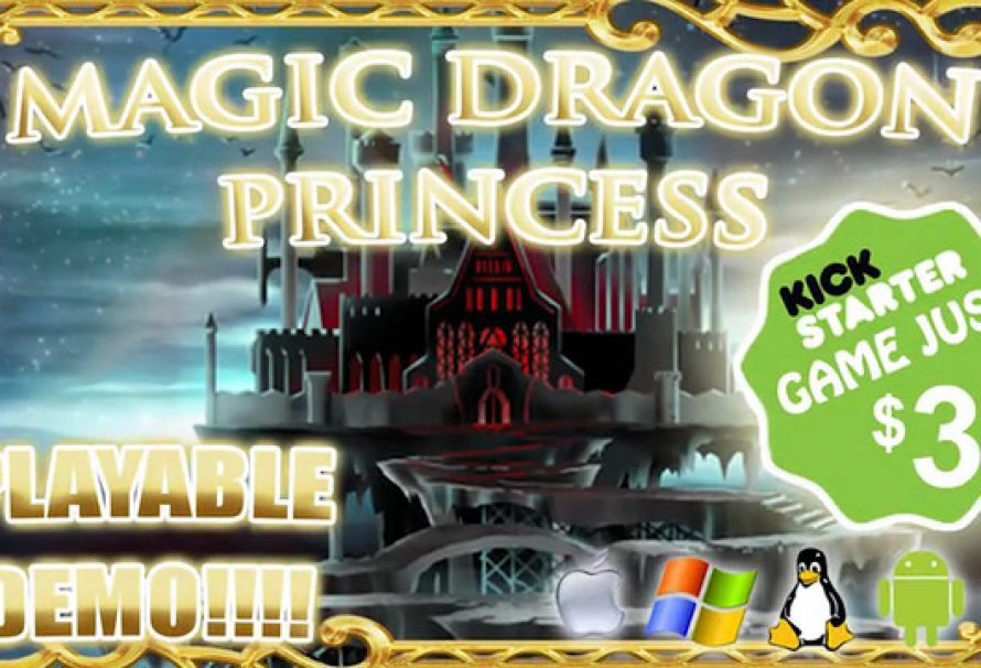 """Magic Dragon Princess"" Has Been Fully Funded On Kickstarter"