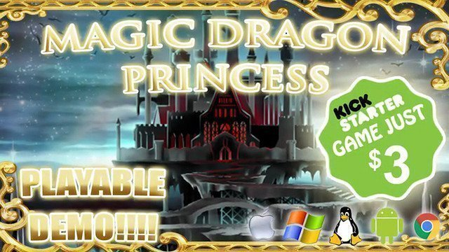 Magic Dragon Princess - #GTUSA 1