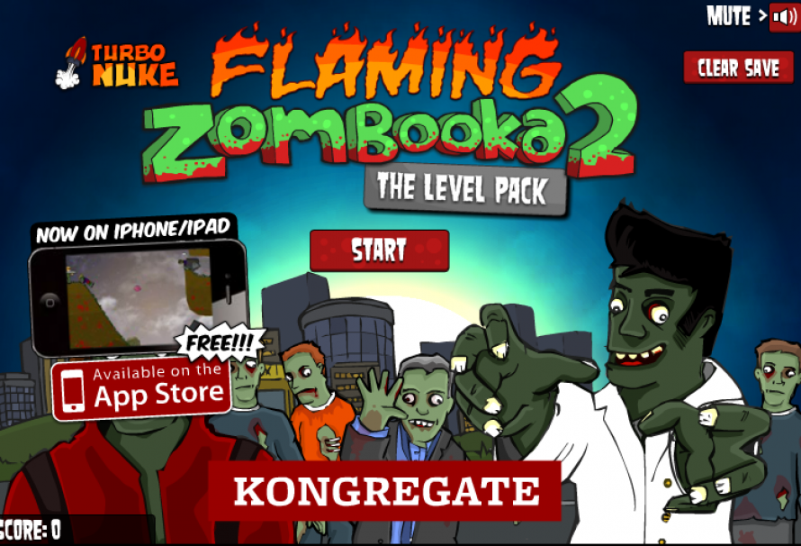 Flaming Zombooka 2 Level pack – Free To Play Browser Game