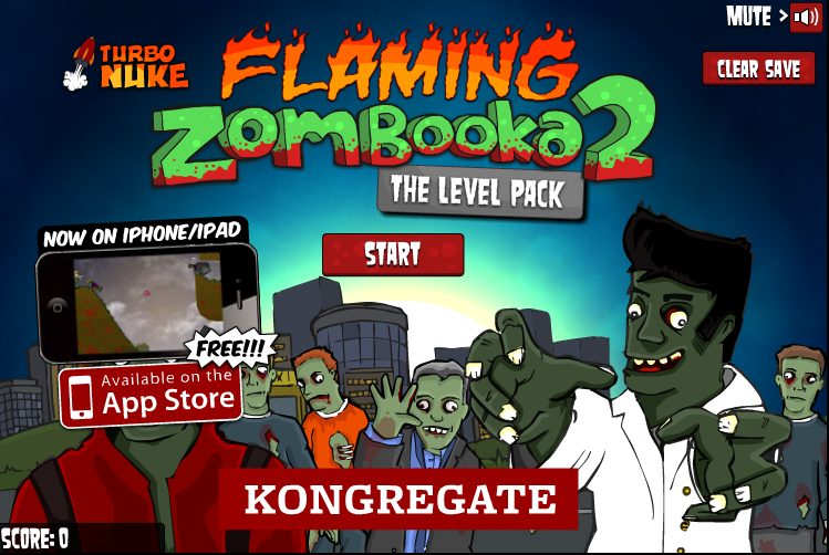 Flaming Zombooka 2 Level pack - #GTUSA 1