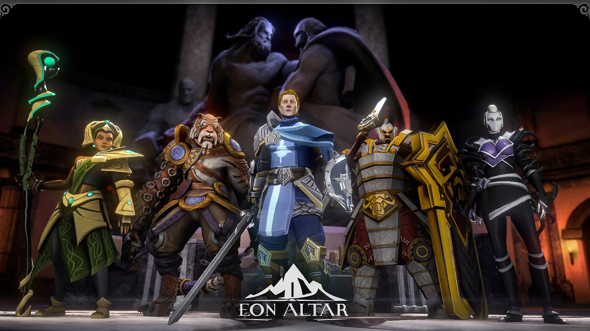 Eon Altar's characters are diverse and mechanically interesting, and the dialog between characters serves as a great jumping off point for real life discussion.