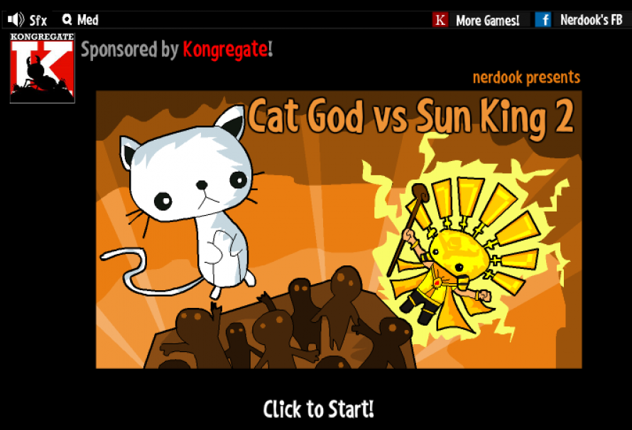 Cat God vs Sun King 2 – Free To Play Browser Game