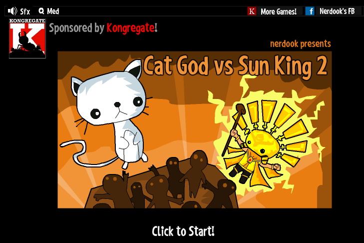 Cat God vs Sun King 2 - #GTUSA 1