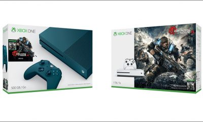 Gears 4 Xbox One S Bundle - #GTUSA 1