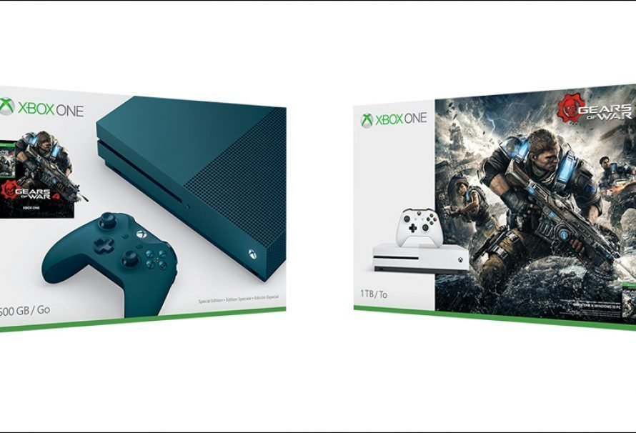 2 New Gears 4 Xbox One S Bundles Announced
