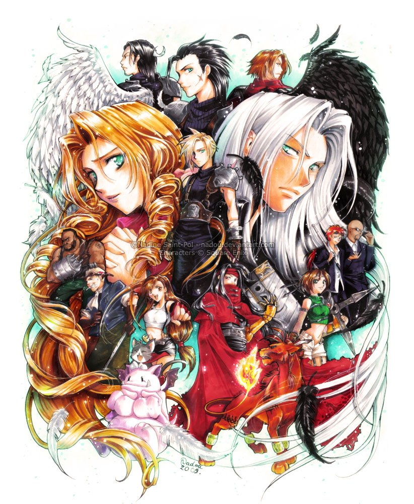Final Fantasy VII 19th Anv - #GTUSA 2