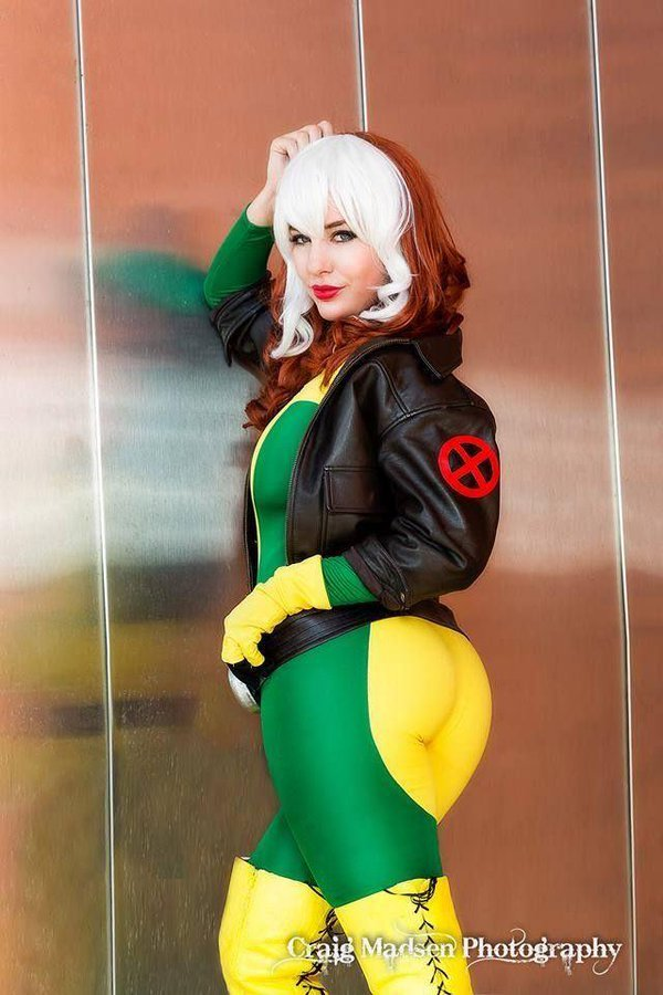 Uncanny X-men Rogue Cosplay - #GTUSA 4