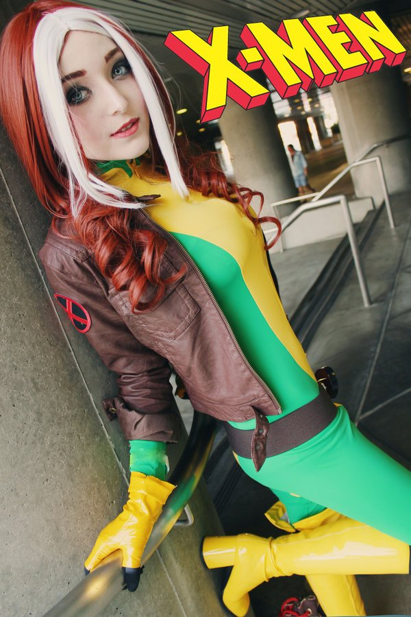 Uncanny X-men Rogue Cosplay - #GTUSA 5