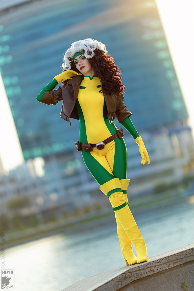 Uncanny X-men Rogue Cosplay - #GTUSA 7