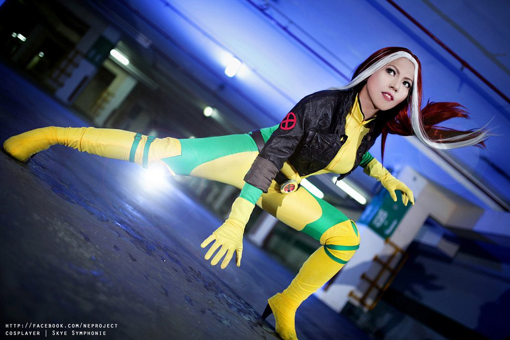 Uncanny X-men Rogue Cosplay - #GTUSA 10