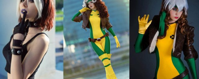 Attractive & Uncanny Rogue Cosplay