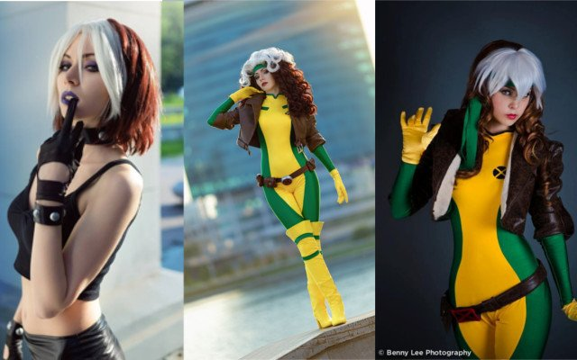 Uncanny X-men Rogue Cosplay - #GTUSA 14