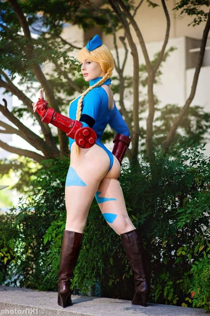 Cammy Cosplay - #GTUSA 5