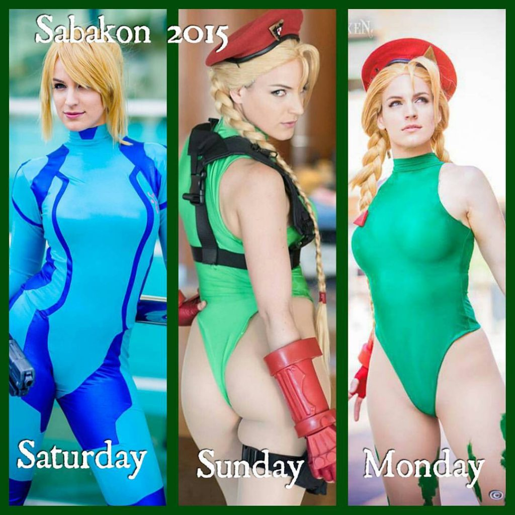 Cammy Cosplay - #GTUSA 9