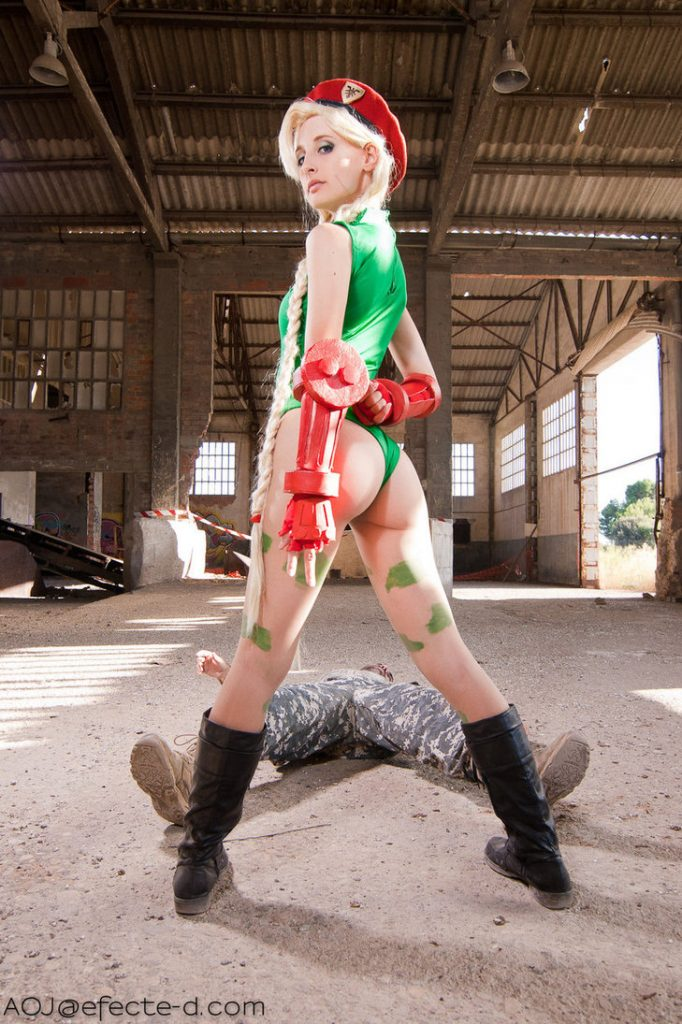 Cammy Cosplay - #GTUSA 11