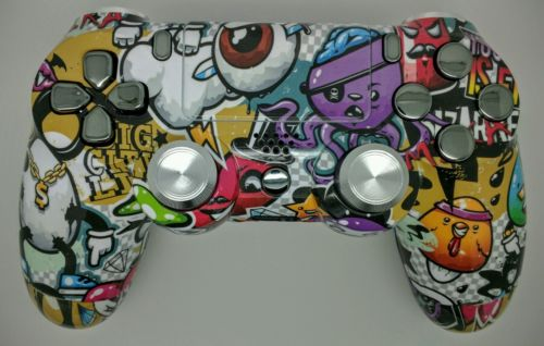 Custom Modded PS4 Controllers - #GTUSA 4