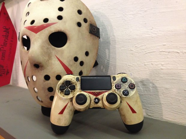 Custom Modded PS4 Controllers - #GTUSA 6