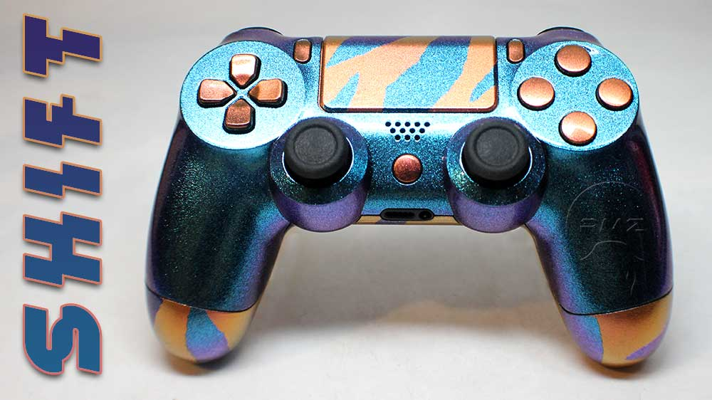 Custom Modded PS4 Controllers - #GTUSA 8