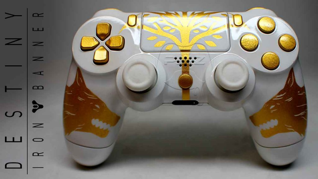 Custom Modded PS4 Controllers - #GTUSA 11
