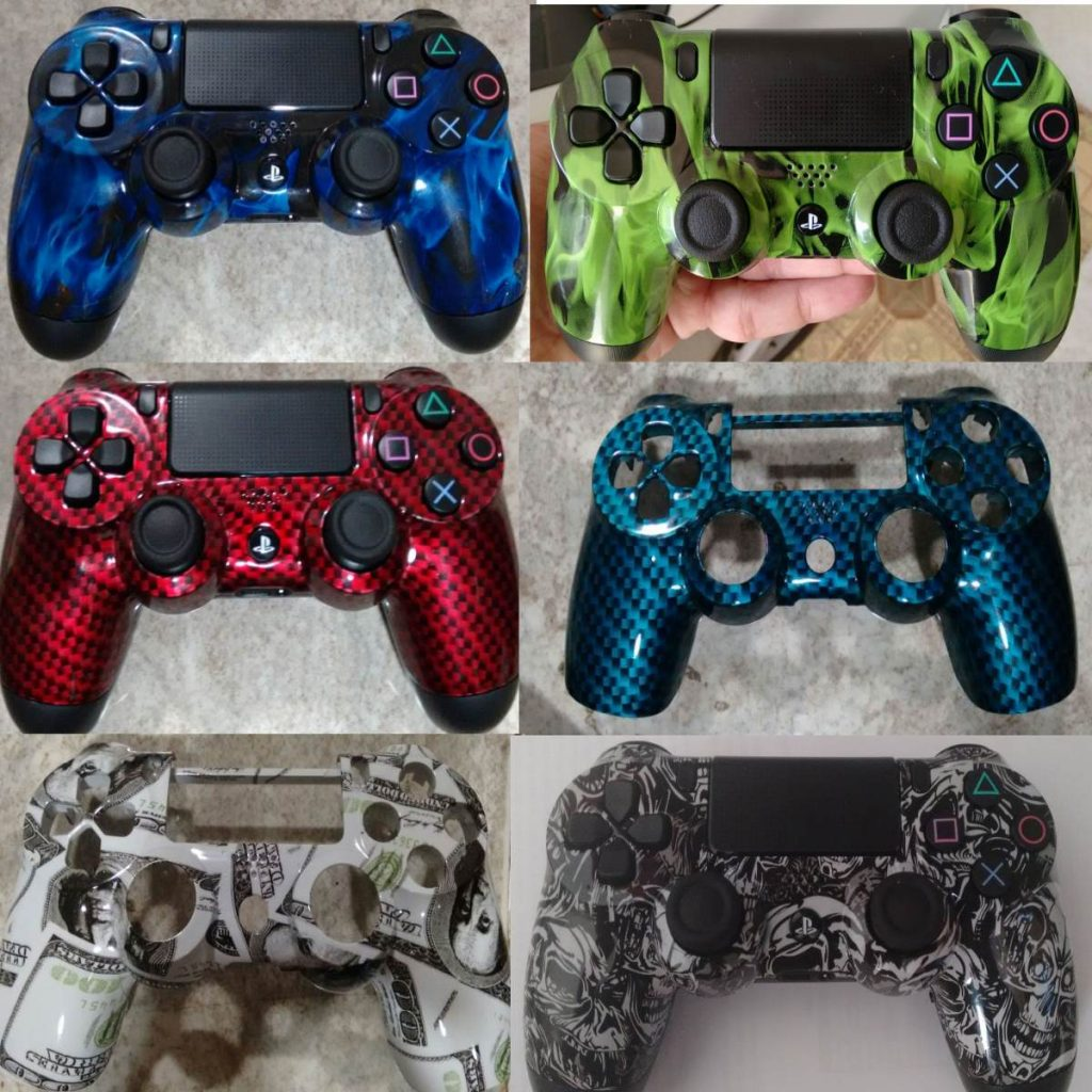 Custom Modded PS4 Controllers - #GTUSA 12