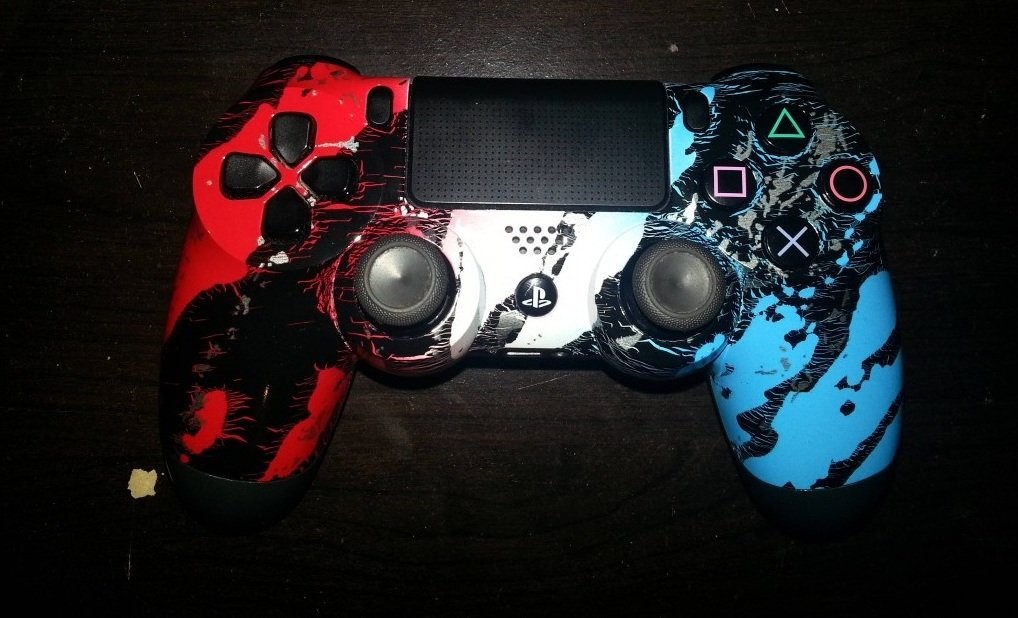 Custom Modded PS4 Controllers - #GTUSA 14