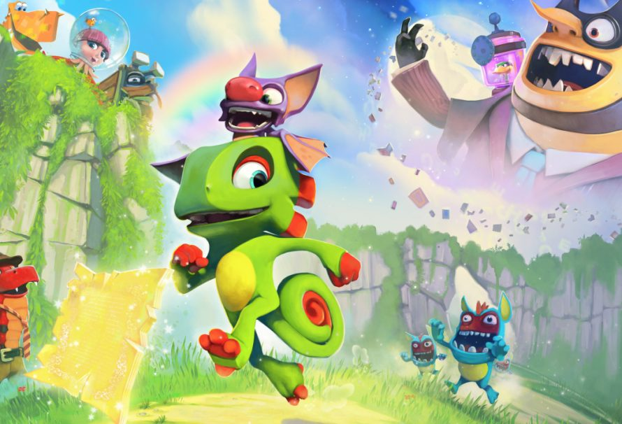 Yooka-Laylee Multiplayer Revealed, Toybox Demo Released