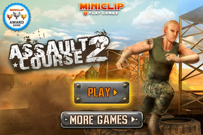 Assault Course 2 - #GTUSA 1