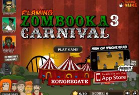 Flaming Zombooka 3 : Carnival - Free To Play Browser Game