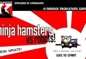 Ninja Hamsters vs Robots - Free To Play Browser Game
