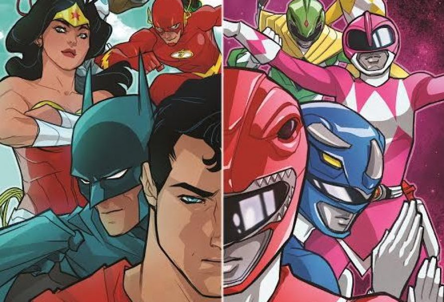 Justice League Set To Meet Power Rangers In Comic Book Mini-Series