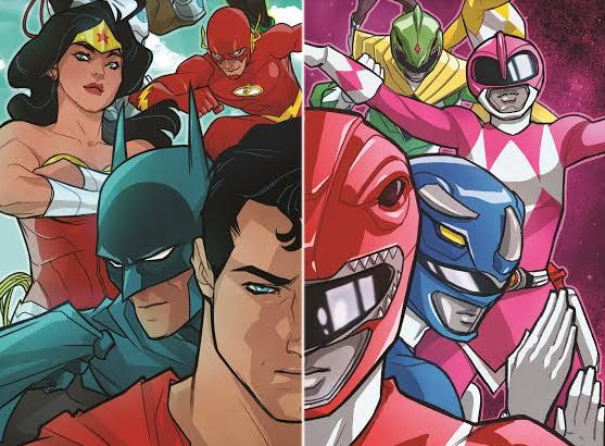 Justice League Power Rangers Comic - GTUSA 1