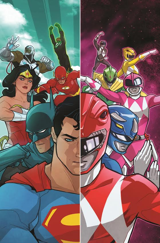 Justice League Power Rangers Comic - GTUSA 2