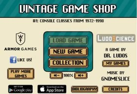 """Vintage Game Shop"" - Free Game About Running A Retro Game Store"