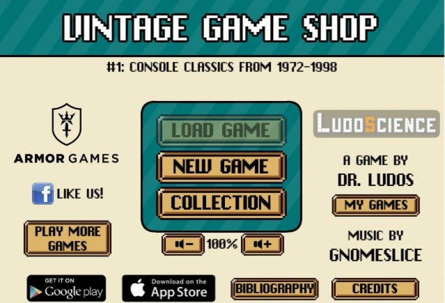 """Vintage Game Shop"" – Free Game About Running A Retro Game Store"