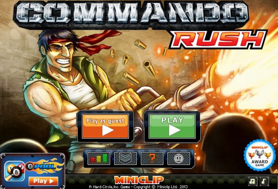 Commando: Rush – Free to Play Mobile Game
