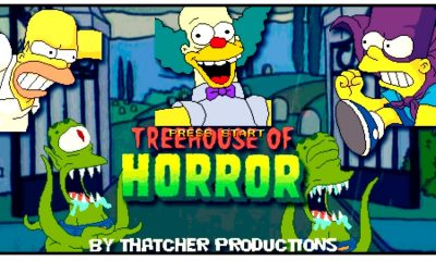 Simpsons Treehouse Of horror - #GTUSA 1