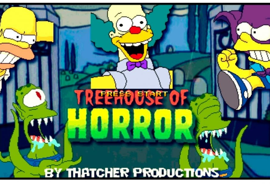"Check Out This Free ""Simpsons Treehouse Of horror"" Fan Made Game"