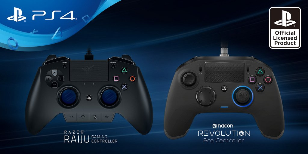 2 New Third-Party Controllers Coming To PS4 - #GTUSA 1