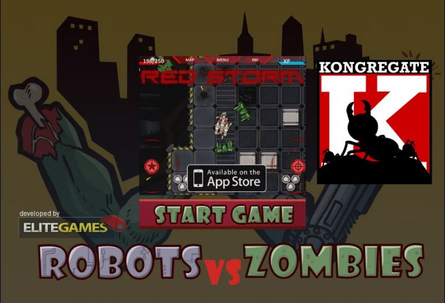 Robots vs Zombi – Free To Play Browser Game
