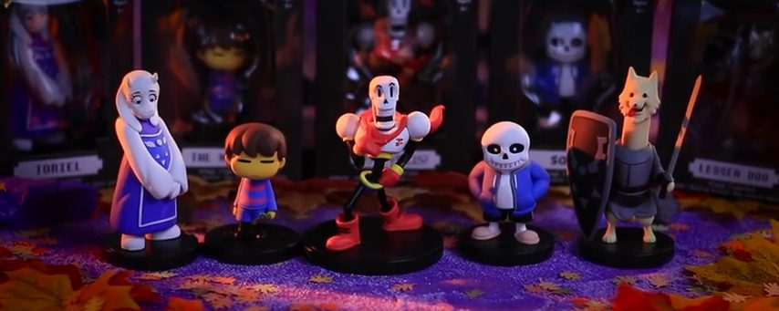 UNDERTALE Little Buddies Series 1 Are Out Now