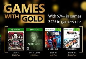 December Games with Gold Announced
