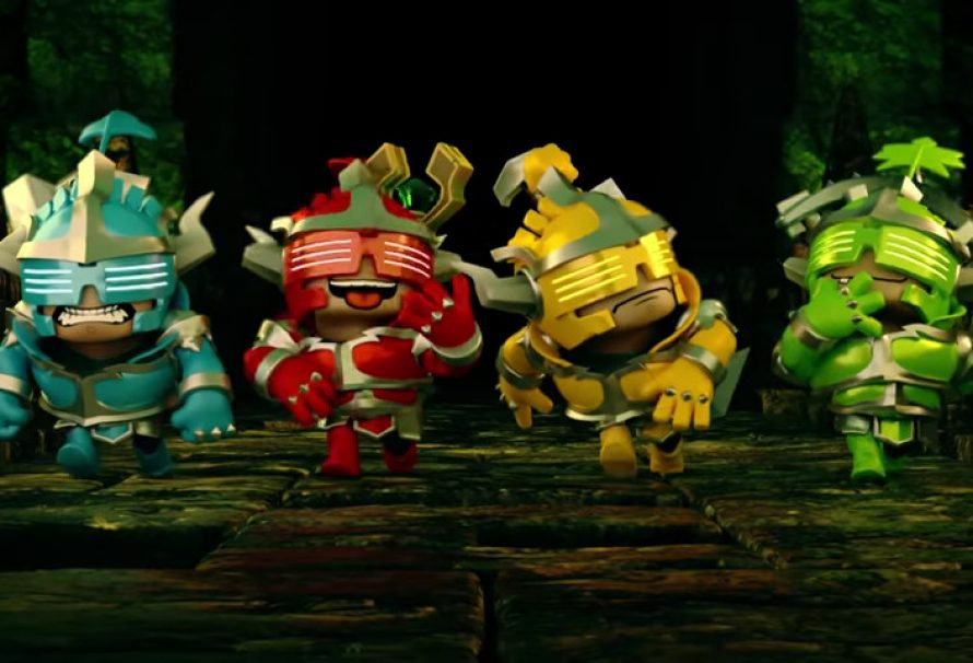 """""""Super Dungeon Bros"""" Out Now on XB1, PS4, & Steam"""