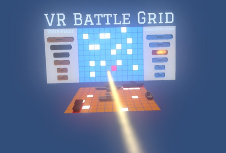 VR Battle Grid – Free Virtual Reality Battleship Style Game On Steam
