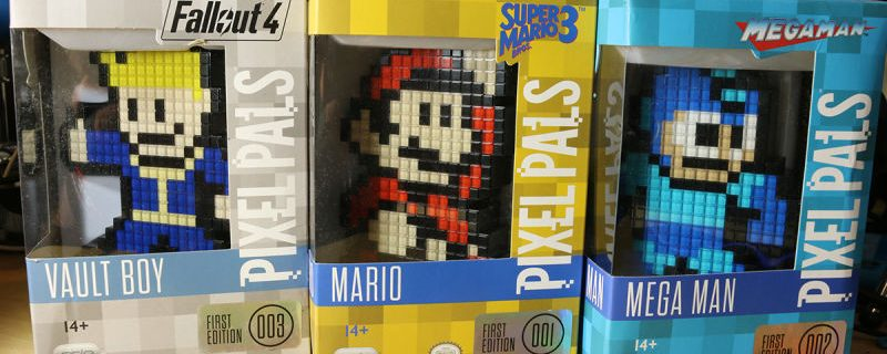 3 Collectible Pixel Pals To Light Up Your Gaming Room