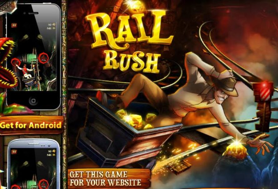 Rail Rush – Free To Play Mobile Game
