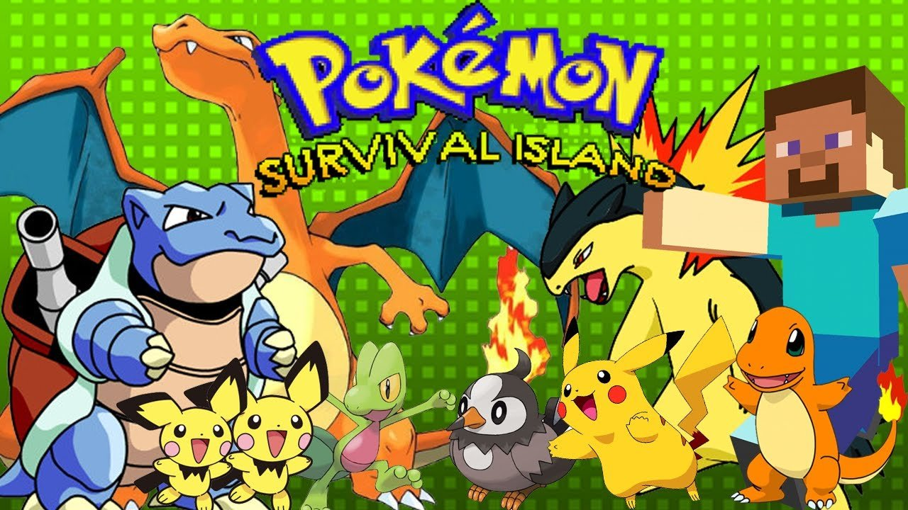 Pokemon Survival Island - #GTUSA 1